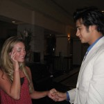 Jessica Price Holding Elvis's Hand After America's Got Talent