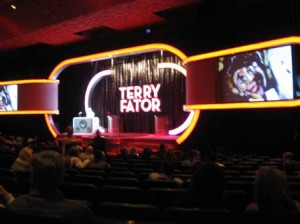 Terry Fator Theatre Stage