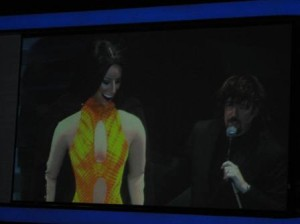 Terry Fator as Sony and Cher