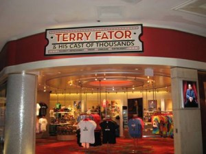 Terry Fator Theatre Gift Shop at Mirage Las Vegas